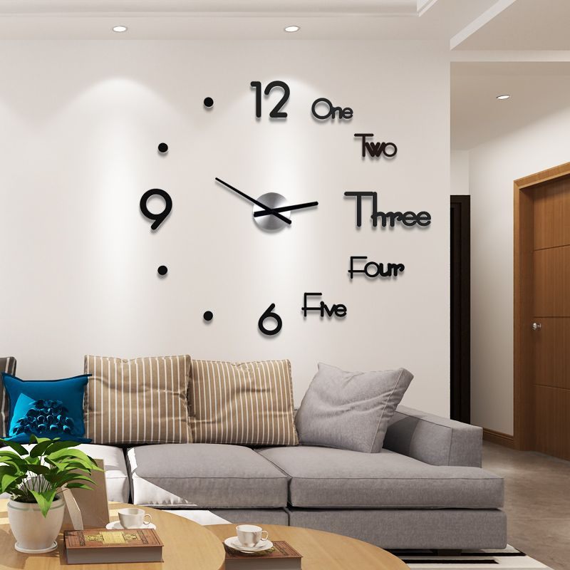 3d Diy Creative Wall Clock Show Off Your Crazy Ideas In 2020