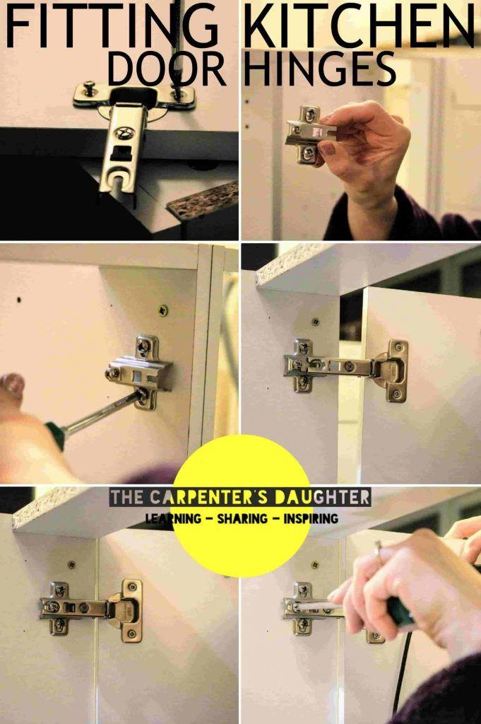 How to Fit or Replace Kitchen Door Hinges | Kitchen door ...
