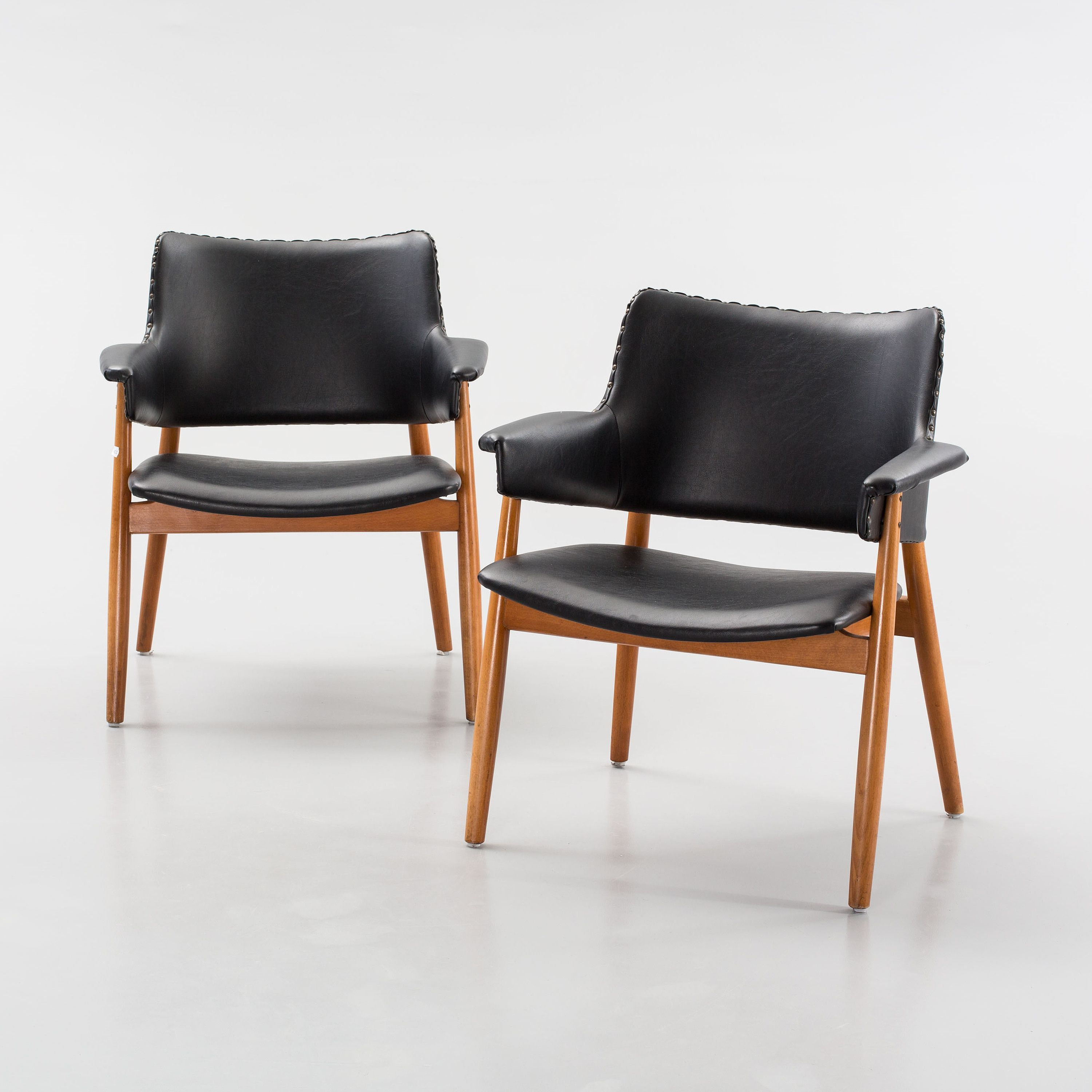 Erik Wörtz; Chairs For IKEA, 1964.