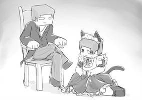 herobrine steve drawing minecraft