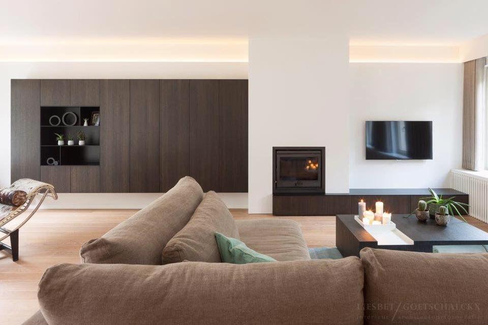 Indirecte verlichting in plafond - woonkamer   Pinterest - Indirecte ...