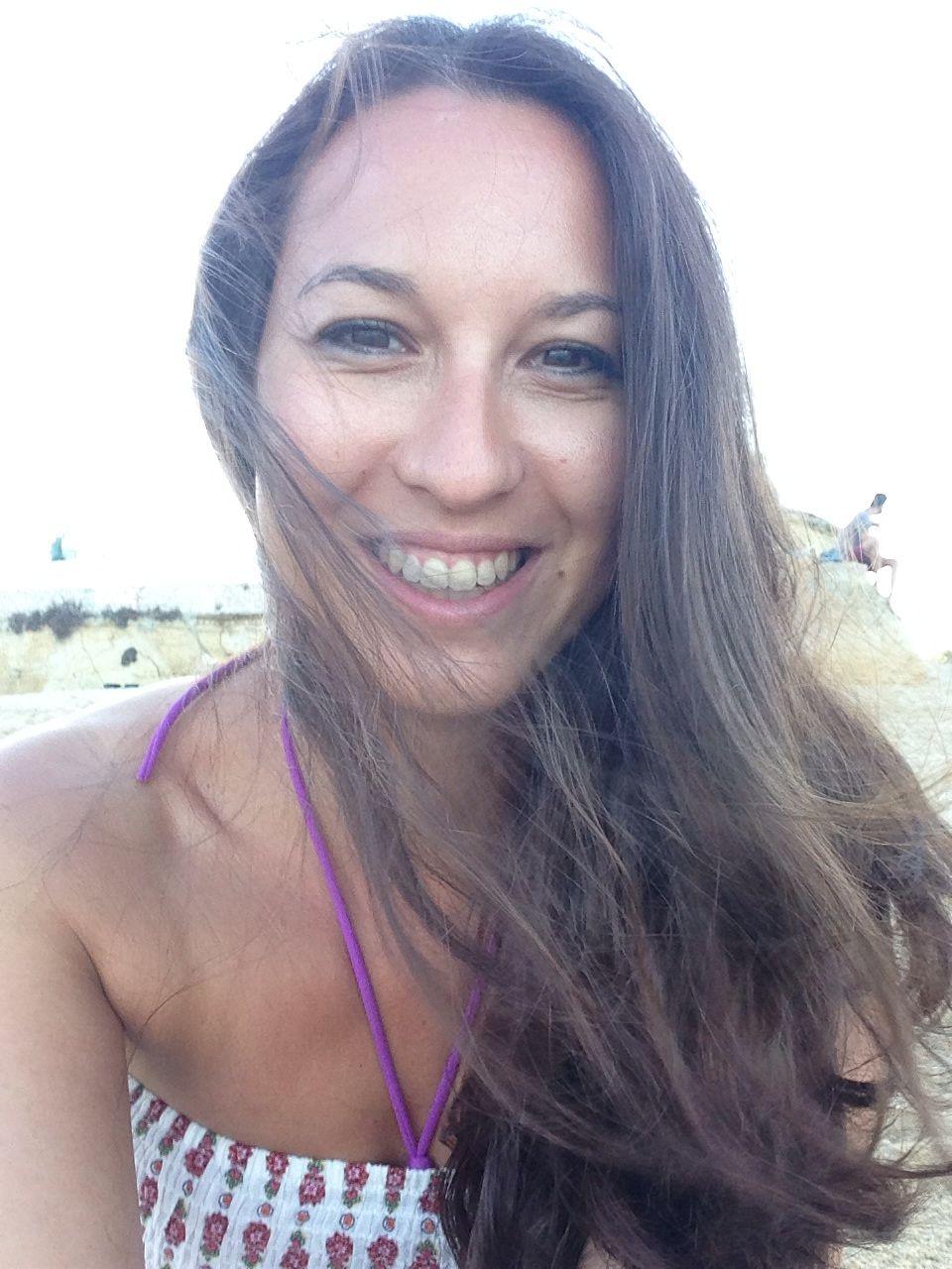Me at the beach at lagos