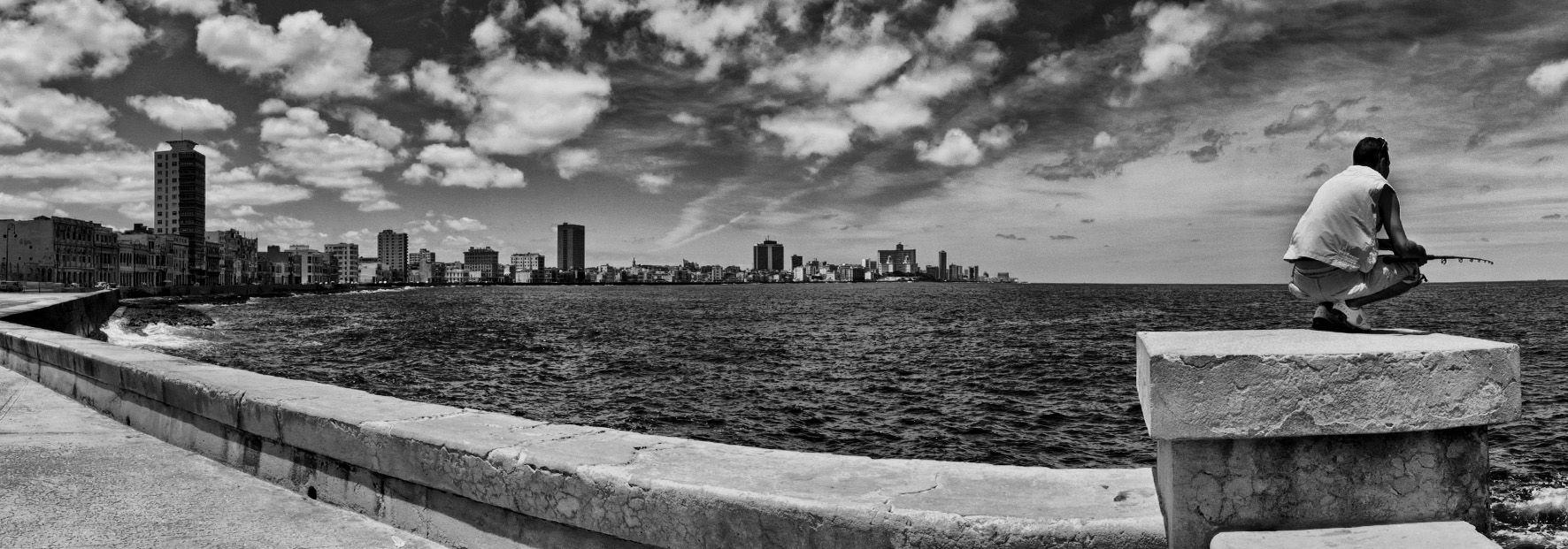 Havanasan antonio cuba colour black and white travel