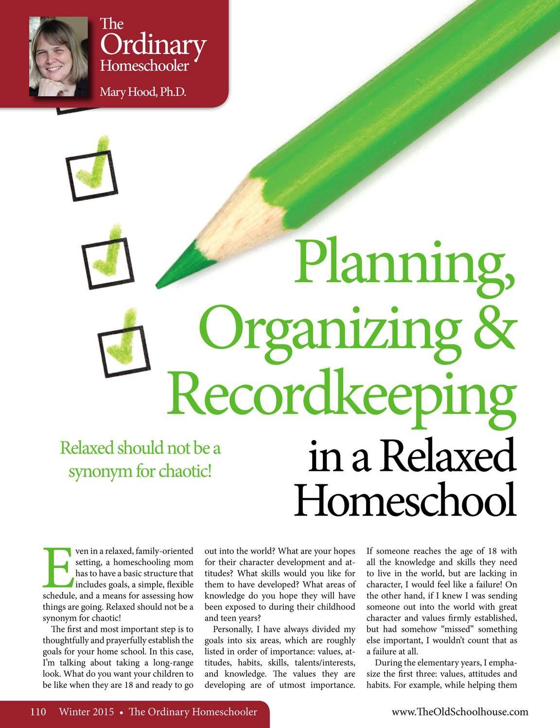 The Old Schoolhouse Magazine