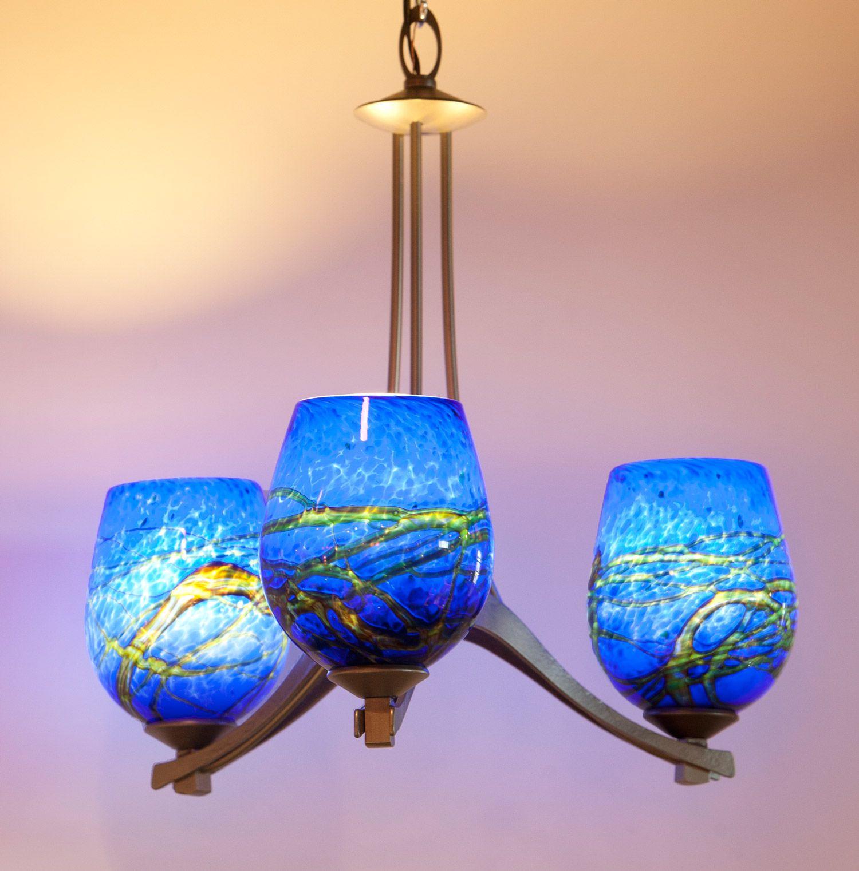 Hand blown glass chandeliers 15123933316 wimberley glassworks hand blown glass chandeliers 15123933316 wimberley glassworks aloadofball Images