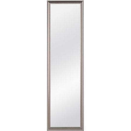 Over The Door Mirror Walmart.Mainstays Over The Door Ornate Door Mirror Silver