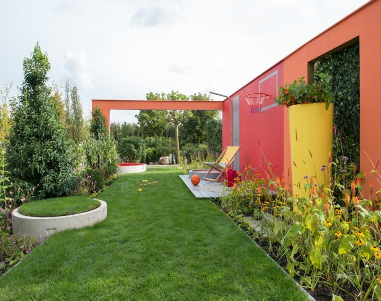 Jardines peque os y patios traseros de dise o nico for Disenos jardines pequenos modernos