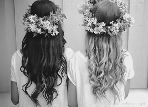 Flower crown hair style❤️ , http://www.hairstyles-haircuts.com #girl,  #hair cut