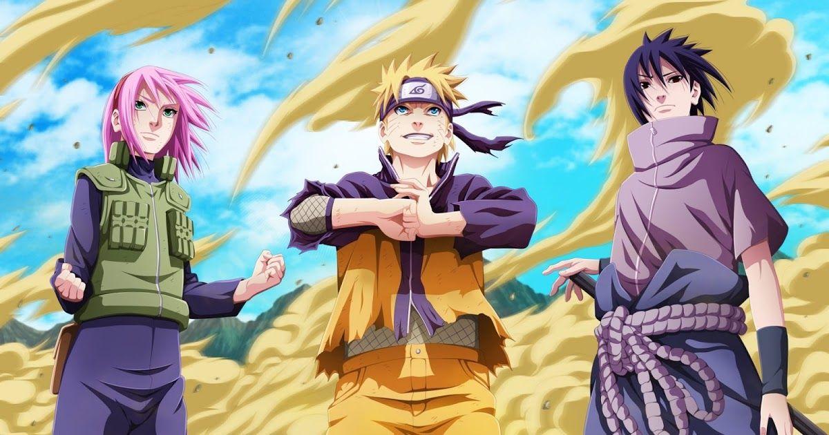Wallpaper Naruto Bergerak Dengan Gambar Kartun Naruto Animasi