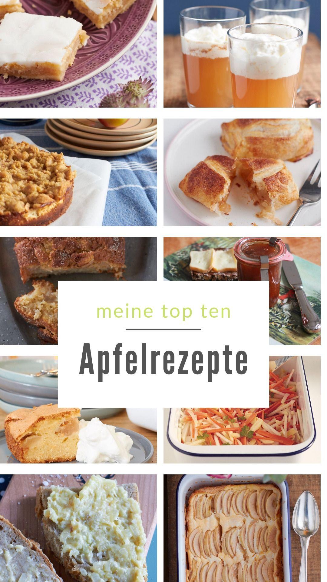 die 10 leckersten Rezepte mit Apfel #Äpfelverwerten