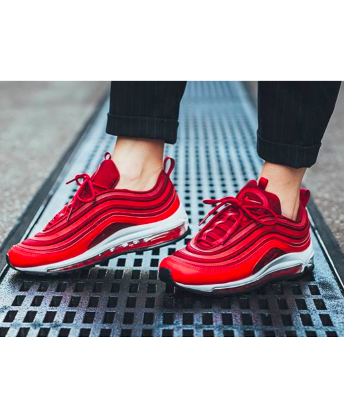 2c4d560c99 Women's Nike Air Max 97 Ultra GYM Red Trainer | Stuff I like in 2019 ...