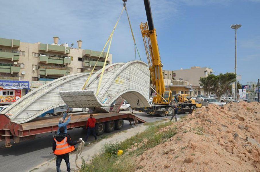 زليتن استمرار أعمال تطوير جزيرة وسط المدينة Sydney Opera House Libya Opera House