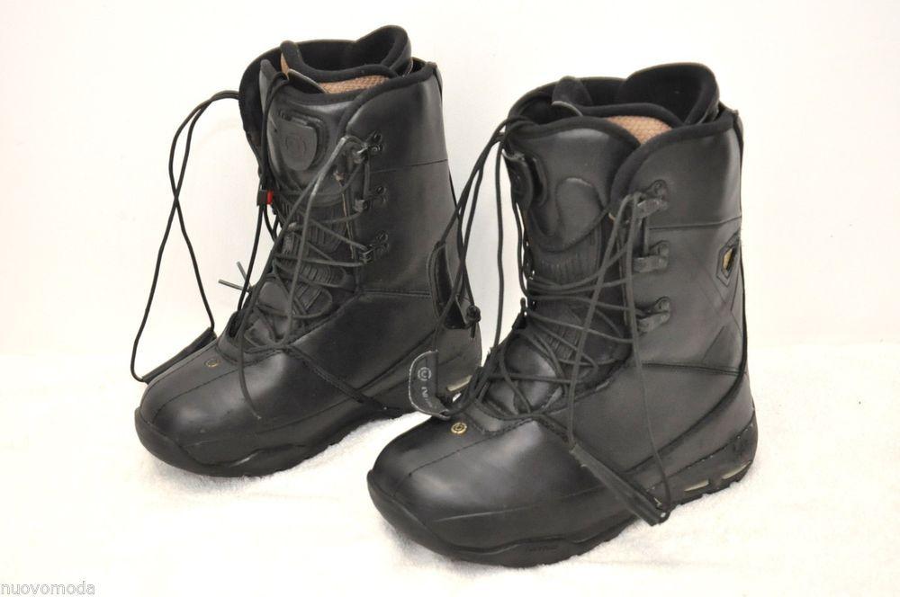 8e8b625c16001 Men s Nitro Darkseid Snowboard Boots Black Size 10
