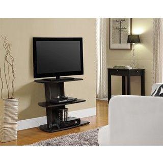 Charming Galaxy 32 Inch Espresso TV Stand