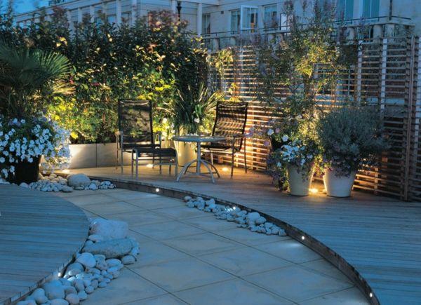 Dachterrasse Gestalten - Ihre Grüne Oase Im Außenbereich ... Terrasse Aus Holz Gestalten Gemutlichen Ausenbereich