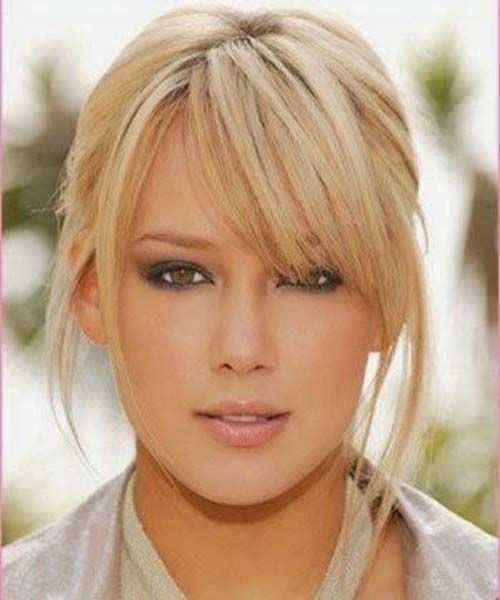 Choppy Side Swept Bangs Chunk Of Styes Long Fringe Hairstyles Blonde Hair With Bangs Medium Length Hair Styles