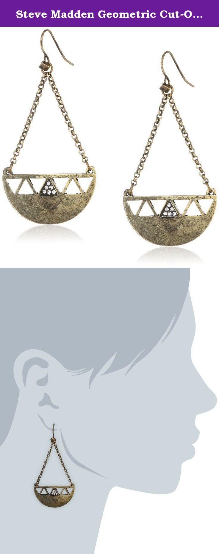 Steve madden geometric cut out chandelier drop earrings 25 steve madden geometric cut out chandelier drop earrings 25 steve madden presents arubaitofo Choice Image