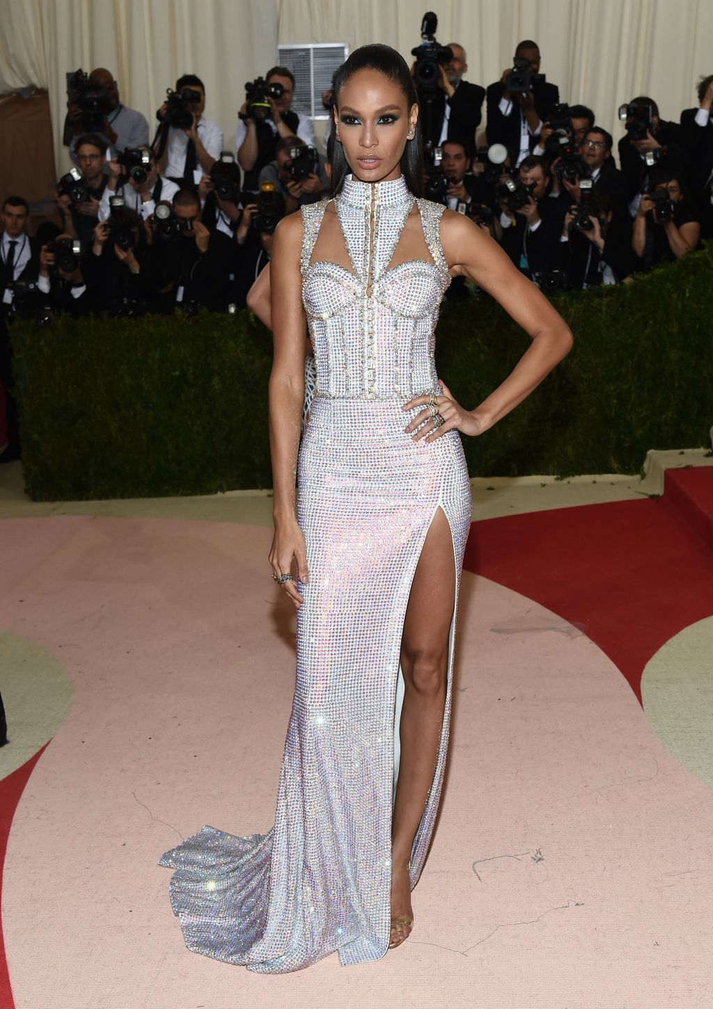 Joan Smalls at met gala 2016
