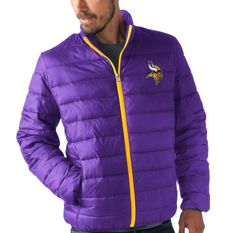 bc3a2bba Minnesota Vikings G-III Sports by Carl Banks Skybox Full-Zip ...