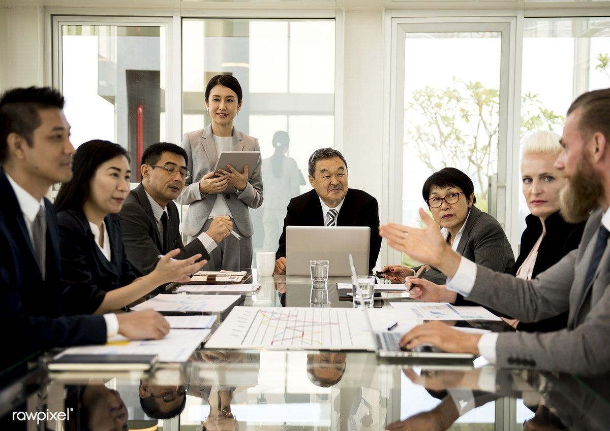 Download premium photo of Business Discussion Meeting