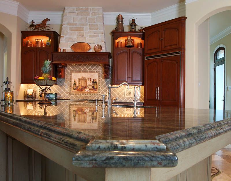 Tropical Green Granite Kitchen Counter Tops | ICM Marble U0026 Granite: Gallery  26 Photos Get A Free Estimate
