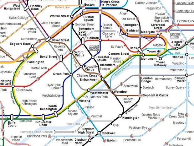 a tube map of the london underground thats far more useful than the official one uk news the independent