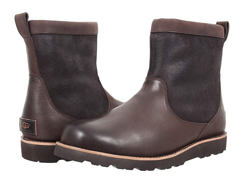 26ccea856af UGG Hendren TL Stout Leather Mens Pullon Boots Stay protected