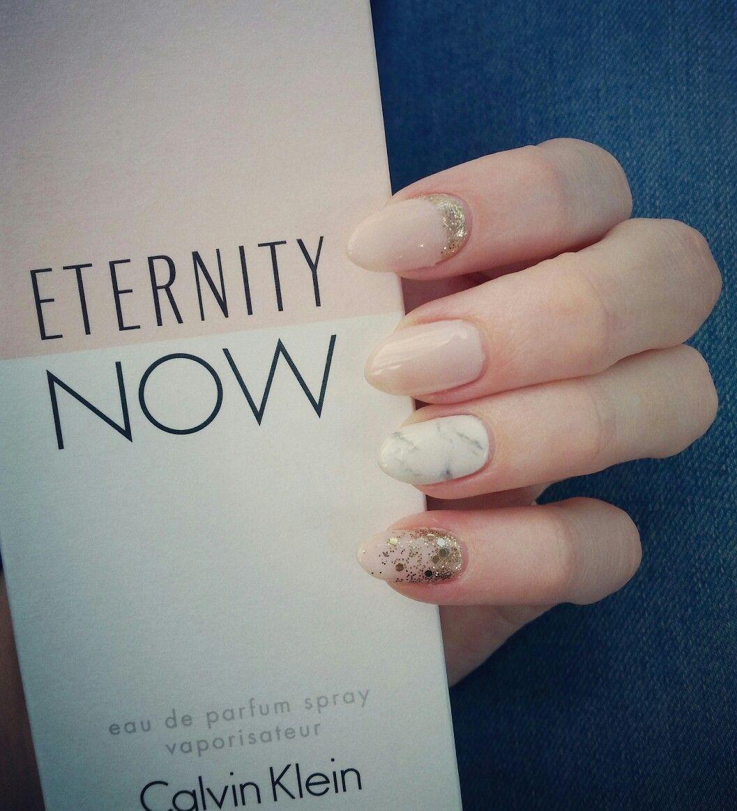 Bio Sculpture. Natural glitter nails! | .:Nail Tech:. | Pinterest