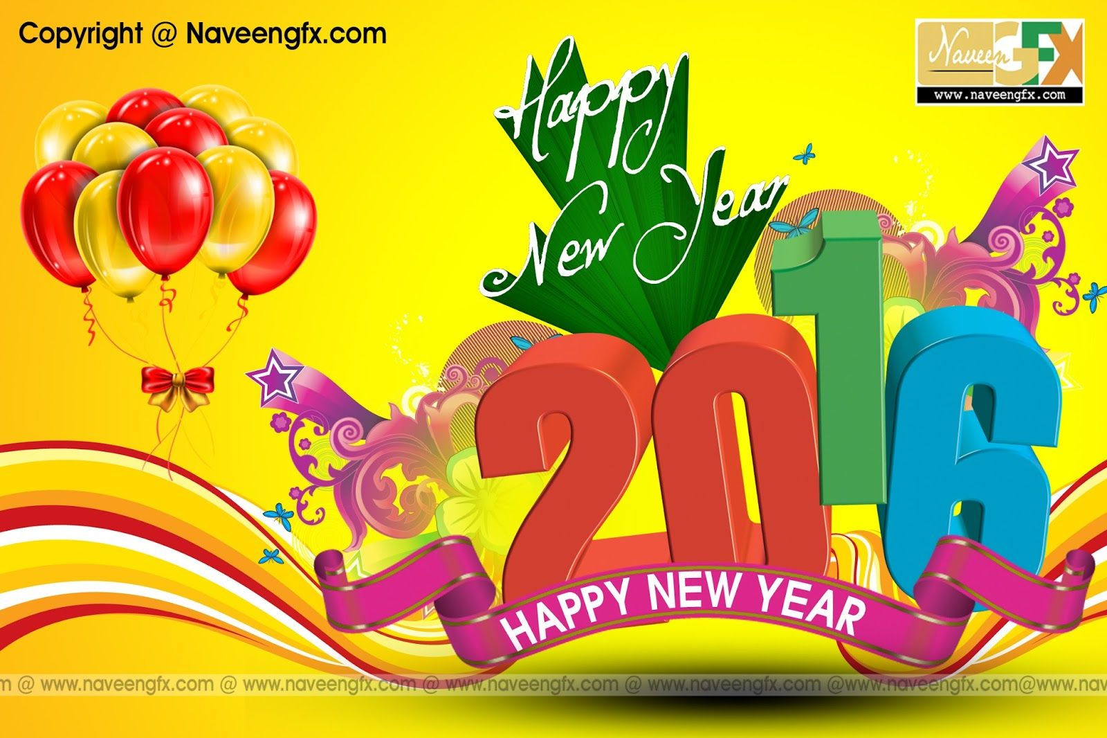 Naveengfx New Years 2016 Greeting Cards Psd Templates Free Downloads Psd Template Free Happy New Year Greetings Psd Templates