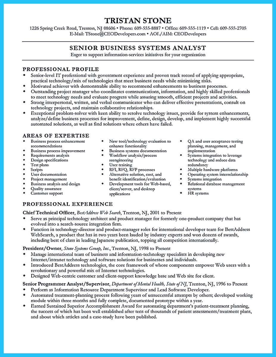 Intelligence Analyst Resume Awesome Best Secrets About Creating Effective Business Systems .
