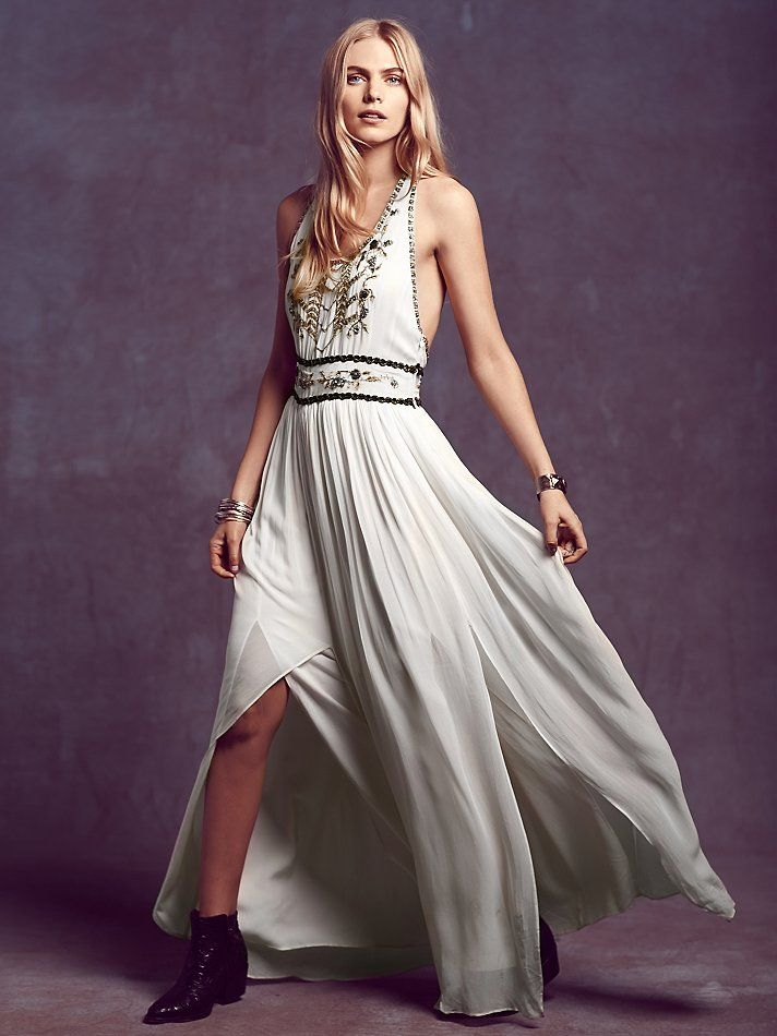 Free People Beatrice Maxi Dress, $350.00 | Vestidos | Pinterest ...