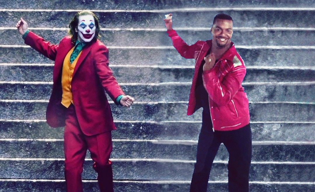 Joker and Carlton dance on the stairs. Edit by rahalarts