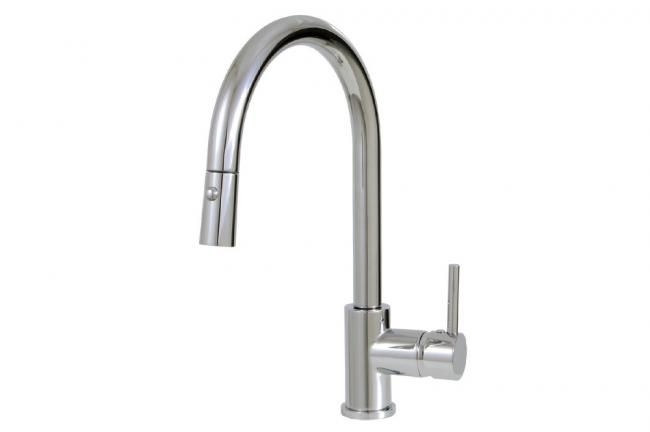 Bon Stylish Kitchen Faucet With Pull Down Dual Stream Mode By Aquabrass /  Studio Collection