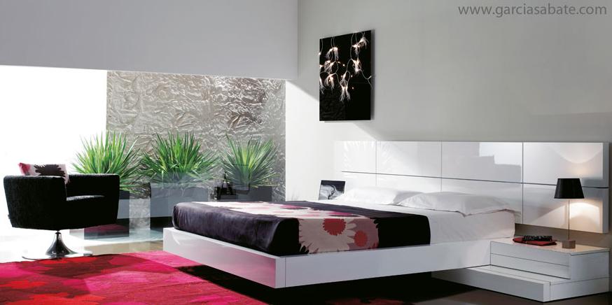 dormitorios modernos - Habitacion Matrimonio Moderna