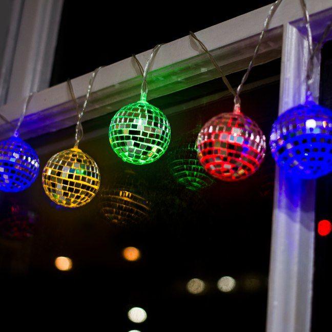 Disco Ball String Lights