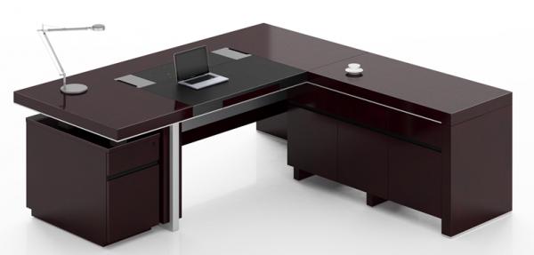 Modern Executive Office Design 4 Elegant Black Executive Desks L Shaped Executive O Executive Office Desk Office Furniture Modern Modern Office Table Design