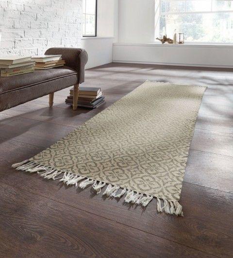 teppich läufer, vintage teppich, teppich beige, teppich braun beige - Teppich Wohnzimmer Braun