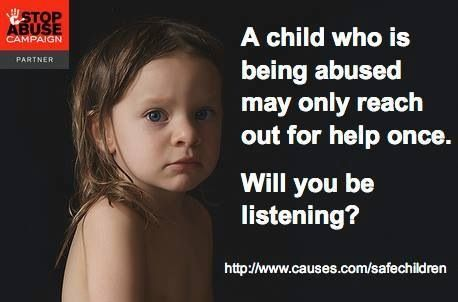 Child sexual abuse prevention starts with you.
