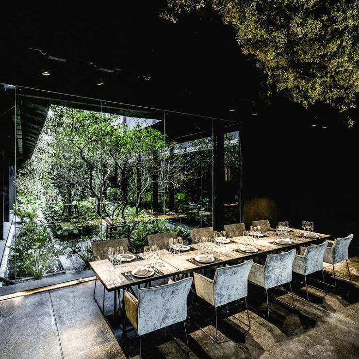 13 Affordable Luxury Fine Dining Restaurants In Bangkok With Stunning Views Luxury Restaurant Interior Outdoor Restaurant Design Luxury Restaurant