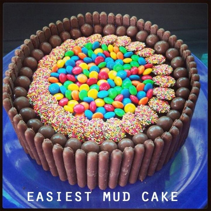 My Broken Eggshells My 18th Birthday Dinner: Easiest Mud Cake