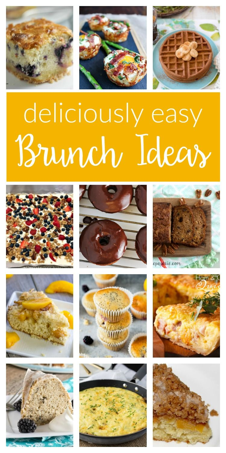 delicious brunch ideas - merry monday #154 | crazy for easy recipes