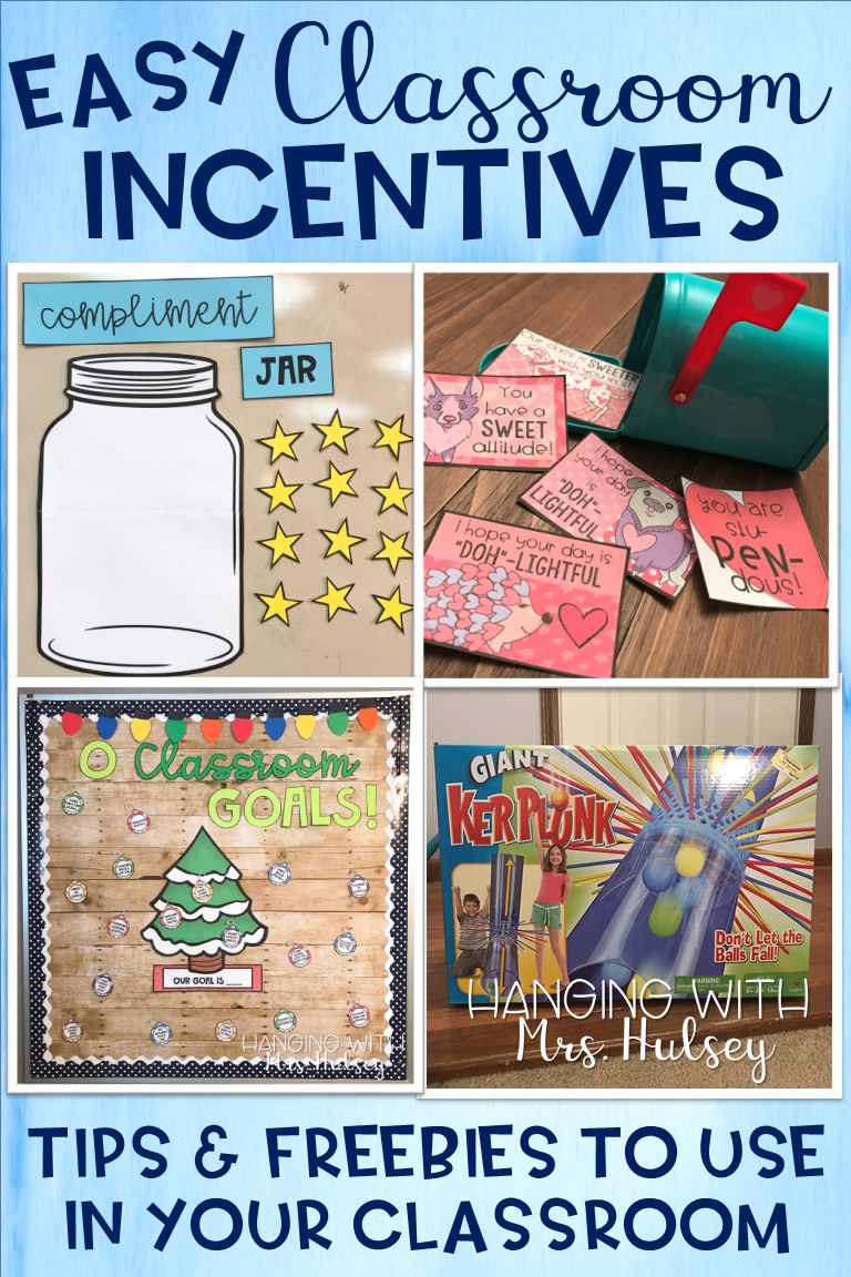 Easy Classroom Incentives Classroom Incentives Kindergarten Classroom Management Class Incentives
