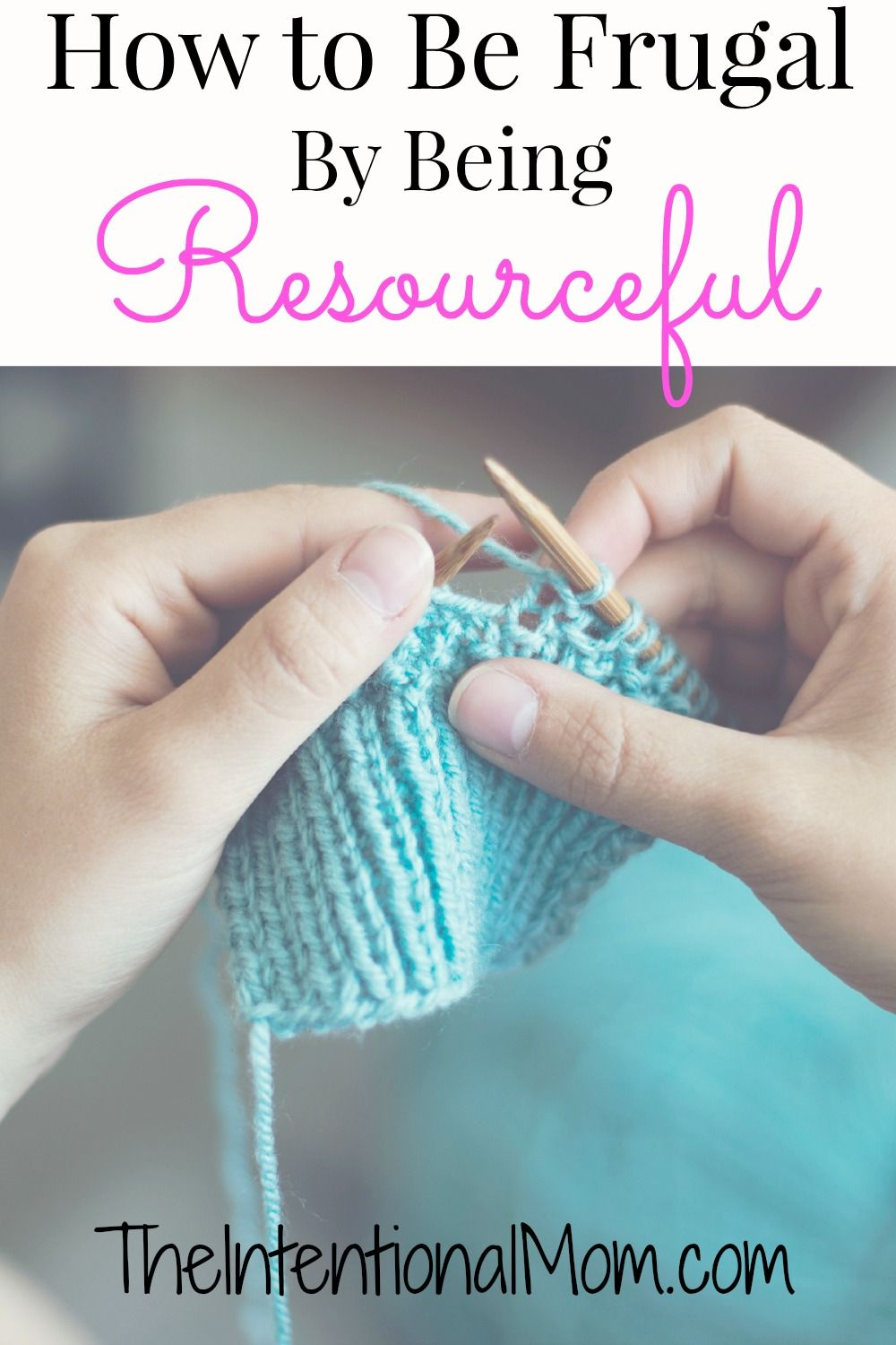 In day 9 of our How to Be Frugal series, I show you some simple ways that you can learn to be resourceful, which can add up to BIG savings over time!