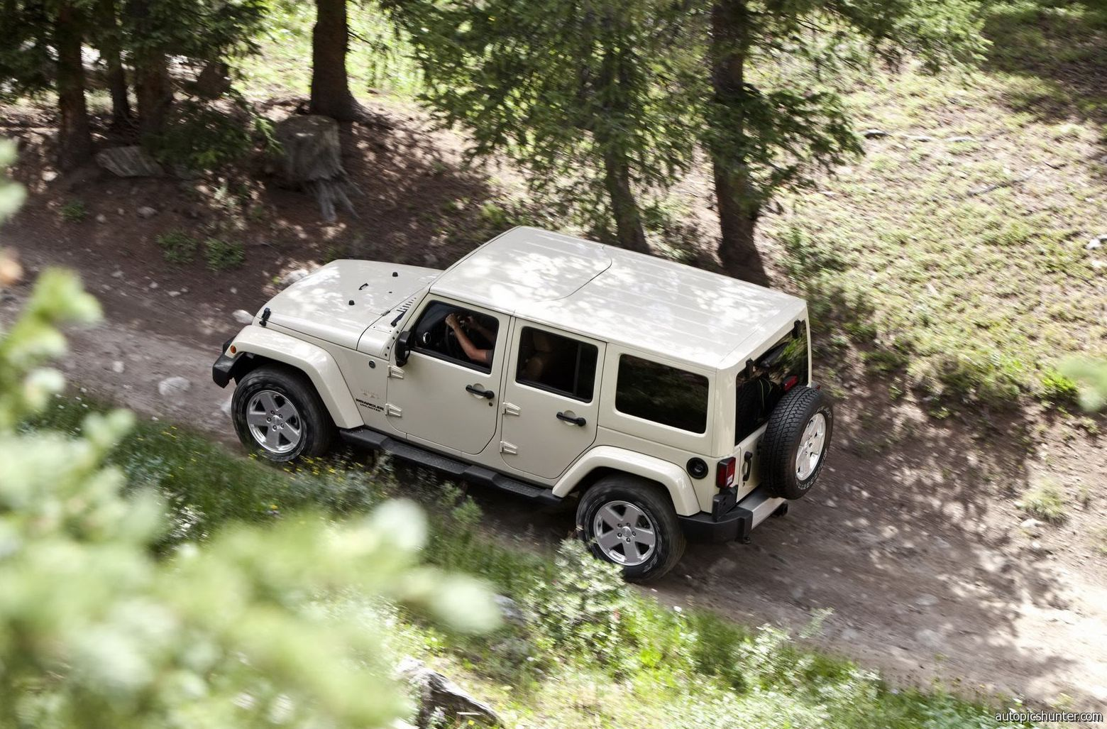 Jeep Wrangler Unlimited With Matching Cream Hardtop Jeep