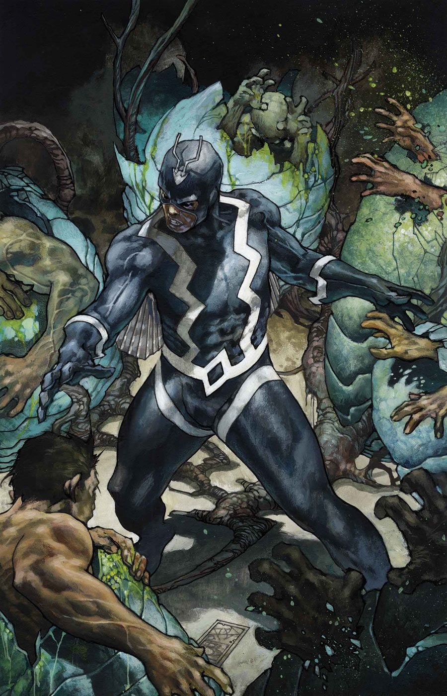 Inhumans: Black Bolt - by Simone Bianchi