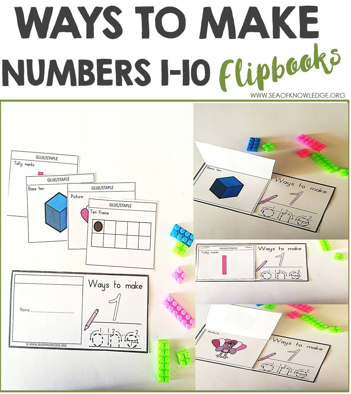 Number Sense Worksheets 1 10