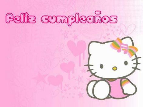 Tarjetas De Cumpleaños Hello Kitty Cakepins Com