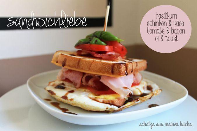 Sandwichliebe   Herzhafte Rezepte   Sandwiches, Küche und Schatz