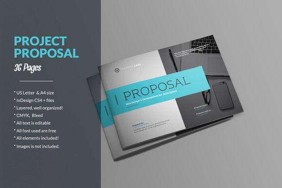 Proposal By Sabin On Creativemarket Graphic Designs Pinterest