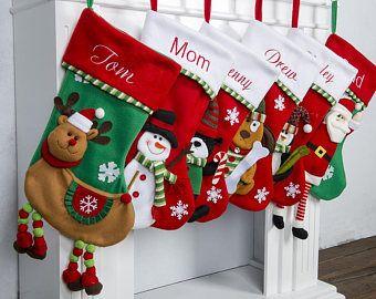 Personalized Christmas Stockings Personalized Stockings Xmas